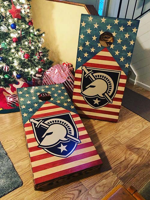 Custom Designed Cornhole Boards