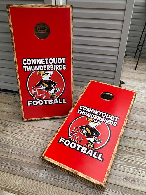 Thunderbirds Cornhole Boards