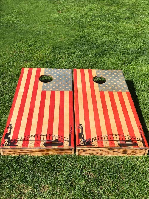 USA Cornhole Boards