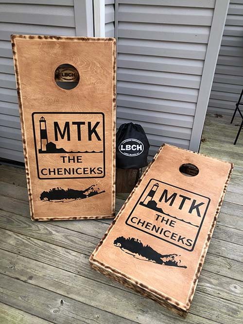 Montauk Cornhole Boards