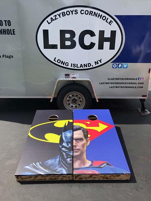 Super Hero Cornhole Boards