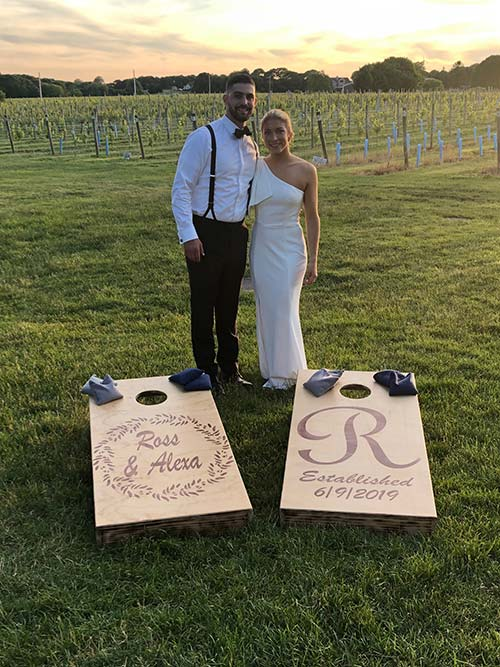 Wedding Cornhole Boards